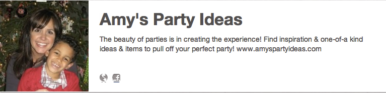 Amy's Party Ideas on Pinterest