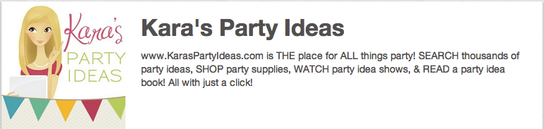 Kara's Party Ideas on Pinterest