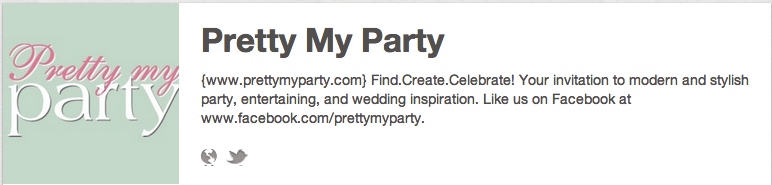 Pretty My Party on Pinterest