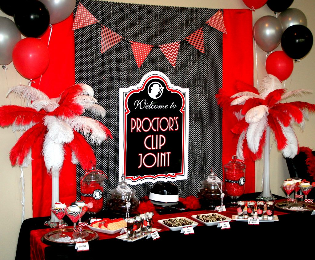 1000 images about black and bling 33 party on pinterest for 1920s decoration ideas
