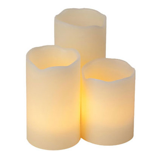 Flameless Candle Trio
