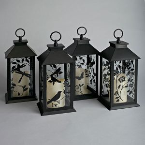 Silhouette Outdoor LED Lanterns
