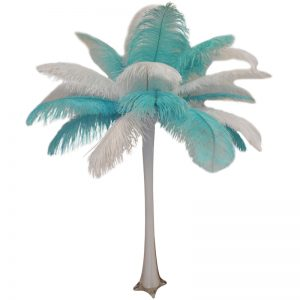 Tiffany Feather Centerpiece